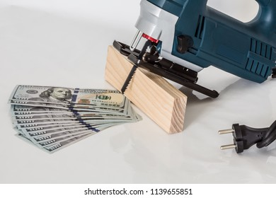 The budget on expenses for purchase of the electric tool