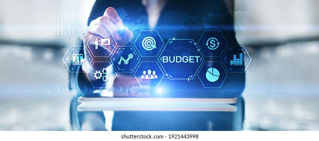 Budget Planning Budgeting Financial management accounting business finance concept.