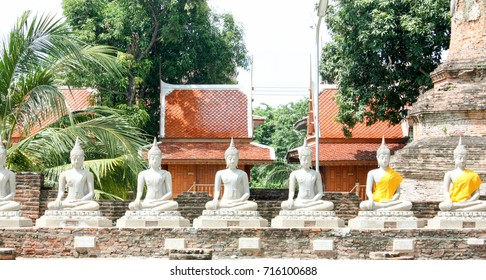 budha stone in the temple