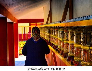 budhhist monastery