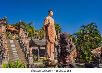 budhist temple Brahma Vihara Arama Banjar Bali, Indonesia