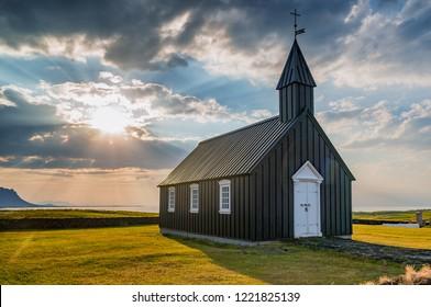 Budir church in Iceland