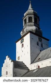 Budolfi Church, Denmark. Cathedral church, Aalborg, north Jutland, Denmark. St Budolfi Church