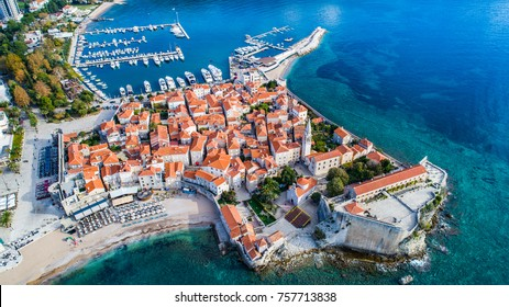 Budva from the air