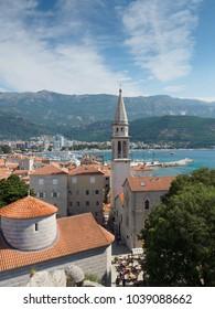 Budva, Montenegro, sunny day