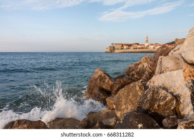 Budva Old Town, view from Breakwater