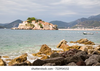 The Budva Riviera is the island of Sveti Stefan. Montenegro