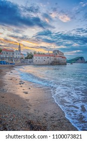 Budva's old town or stari grad is something like a mini Dubrovnik and star attraction for Montenegro's tourist season.