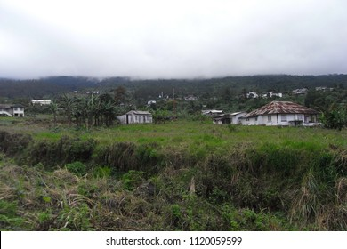 BUEA,  CAMEROON,  AFRICA - CIRCA SEPTEMBER 2010  :  Scenery of BUEA town.