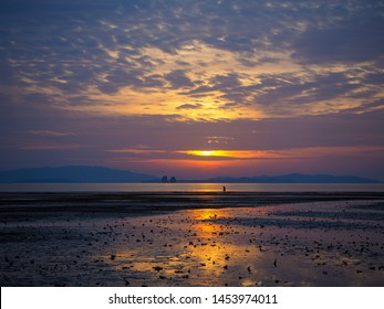 Bueautiful twilight sky , Koh yao, Thailand
