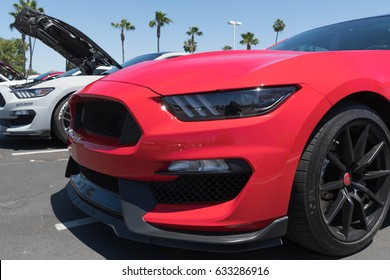 Buena Park, USA - April 30, 2017: Ford Mustang sixth generation on display during the Fabulous Fords Forever