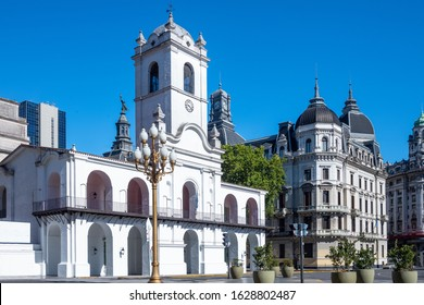 Buenos Aires, Argentina, The Capilbo, historical public buildin in the city center