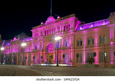 Buenos Aires, Argentina, Presidential Palace Casa Rosada (Pink House)