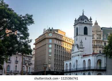 Buenos Aires Cabildo Building, colonial town council and Council of Magistrates of the Nation (Consejo de la Magistratura de la Nacion) - Buenos Aires, Argentina