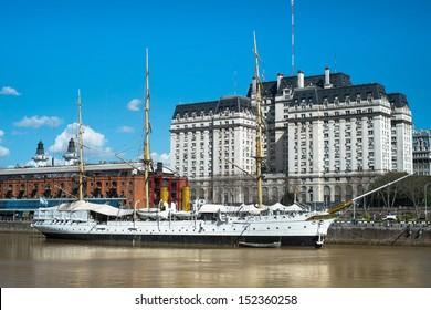 Buenos Aires Cityscape, Capital City of Argentina, Puerto Madero Neighborhood