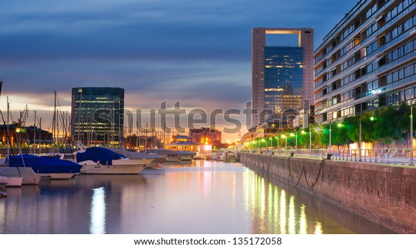Buenos Aires Cityscape, Capital City of Argentina, Puerto Madero Neighborhood