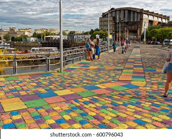 BUENOS AIRES, MARCH 11, 2017 - Caminito, La Boca neighborhood