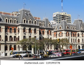BUENOS AIRES-ARGENTINA-SEP 08, 2011: Buenos Aires is Argentina's big, cosmopolitan capital city. Its center is the Plaza de Mayo, lined with stately 19th-century buildings.