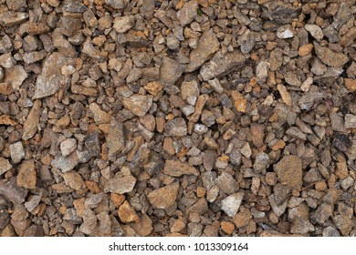 Buff Limestone Class II. Limestone chippings background image. Limestone gravel texture. Excellent base material. Decorative limestone rocks material texture.