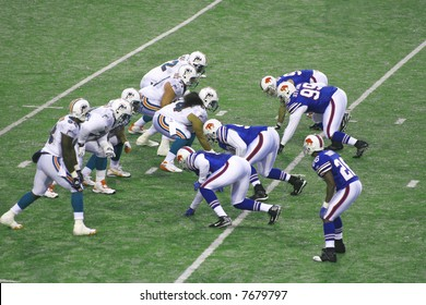 Buffalo bills defeat Miami Dolphins at the Ralph Wilson Stadium on December 9, 2007