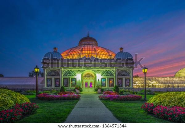 Buffalo Erie County Botanical Gardens The Stock Photo Edit Now 1364571344