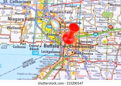 Buffalo and Map