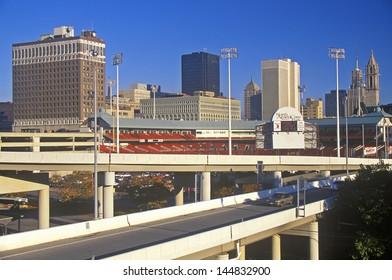 Buffalo skyline, NY