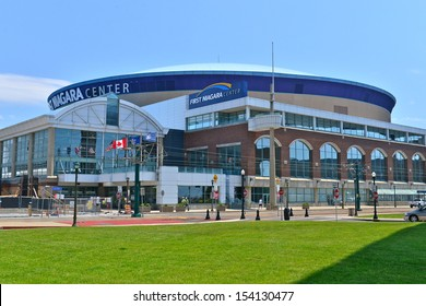 BUFFALO,NY - JUNE 25 :The First Niagara Center, formerly known as HSBC Arena is a multipurpose indoor arena located in downtown Buffalo,NY,USA. It can sit 19,070 fans and is home of the Buffalo Sabres