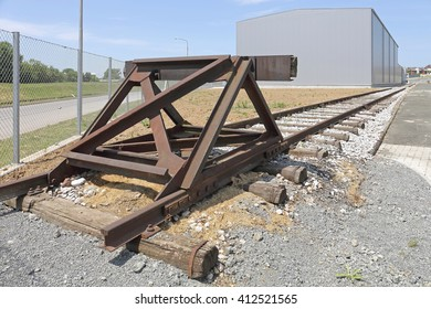 Buffer Stop Bumper Safety Device at End of Raiload
