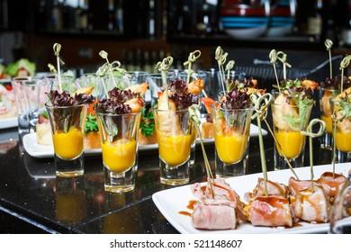 Buffet. Dessert