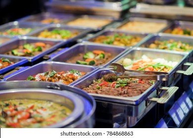 buffet food. catering food party at restaurant