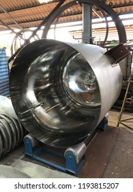 Buffing Surface Pressure Vessel Fabrication