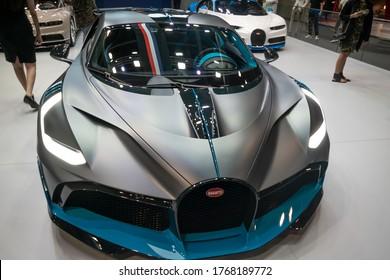 Bugatti Divo - Brand new mid-engine track sports car - Dubai Motor Show - Dubai, UAE November 18, 2019