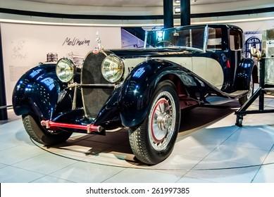 "Bugatti Type 41 Royale Baujahr 1926 -1933.Bugatti ART & PERFECTION. Exhibition: ""An automobile myth.""BERLIN GERMANY. 7. Oktober - 6. November 2011"