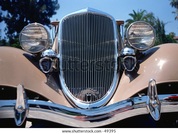 Buick front grill antique