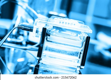 Build a gel electrophoresis chamber