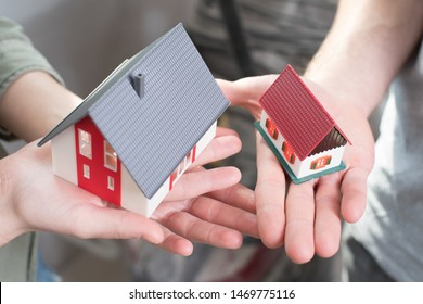 build a new house, move into a larger house