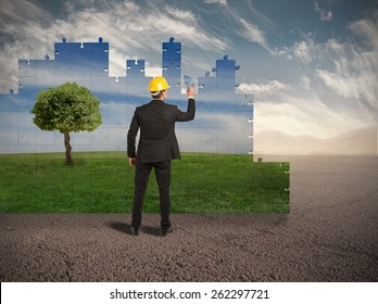 Build a new world with environment respect
