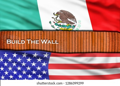 Build the wall with USA and Mexico.