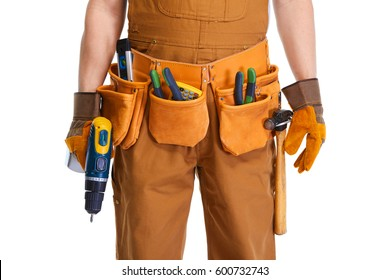 Builder hands
