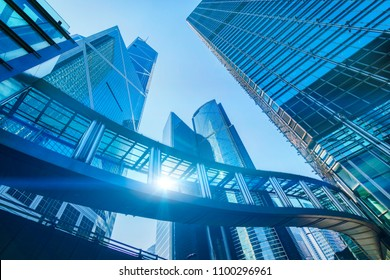 Building abstract infrastructure of the city to Development  Energy Corporate - Hong Kong City and Construction Develop Transportation - City Building of Financial and business centers in Asia