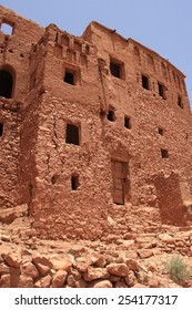 Building in Ait-Benhaddou, Morocco