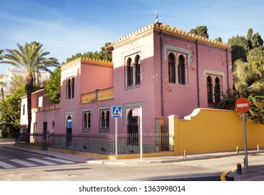 building in almunecar, on the spains south coast.