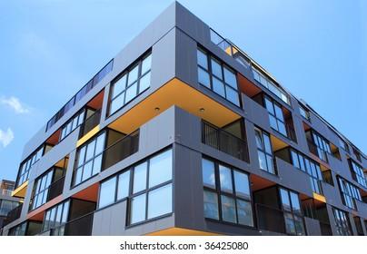 Building angle and windows