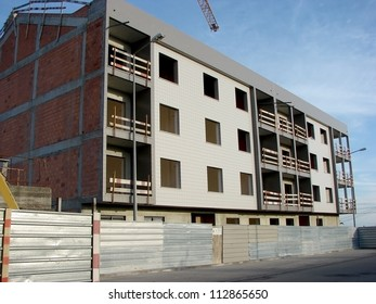 Building of Apartments in Construction