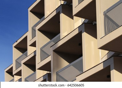 Building balcony detail