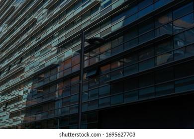 Building in Barcelona. Catalonia,Spain. Europe