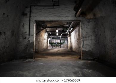 building, basement