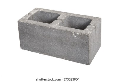 Building block. Isolated on white background