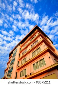 Building and blue sky